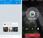 Zalo đã update gọi video cho iOS
