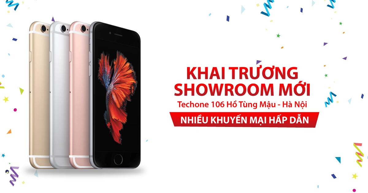 [TechOne HN] Tặng Smartphone mừng Khai trương  showroom Hồ Tùng Mậu