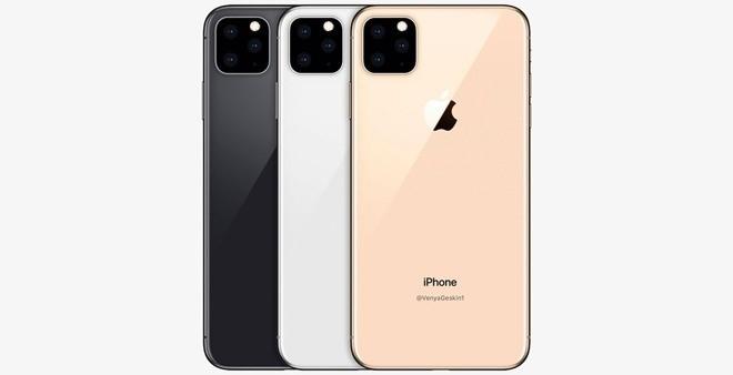 iPhone 11 sẽ có cụm 3 camera với cách sắp xếp cực dị ?