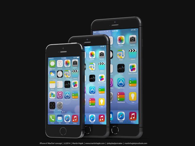 Ảnh dựng iPhone 6 dựa trên tin đồn