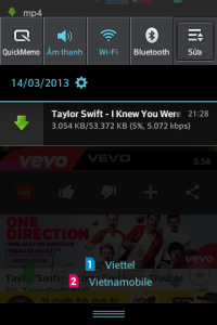 Các phần mềm tải video cho Galaxy S3