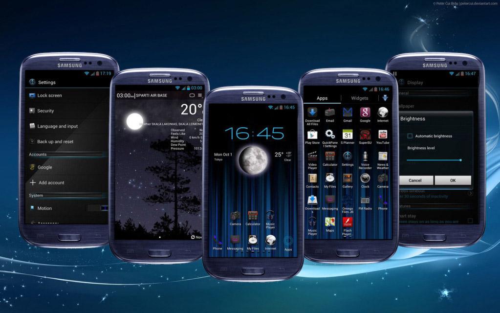Hướng dẫn tải theme cho điện thoại Samsung Galaxy S3