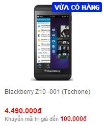 Tư vấn mua blackberry z10 ở đâu chất lượng đảm bảo