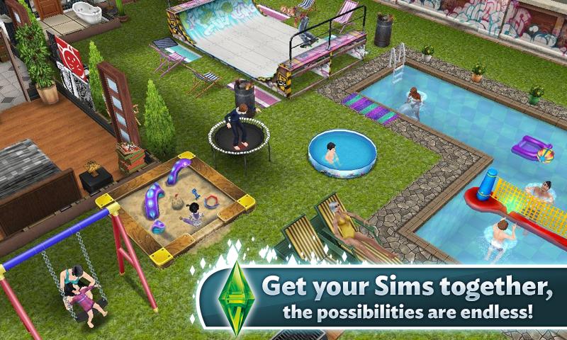 The Sims 4 cập nhật đồ họa đẹp mịn màng và bóng bẩy