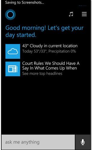 Cách chụp ảnh màn hình Lumia 625 bằng phím