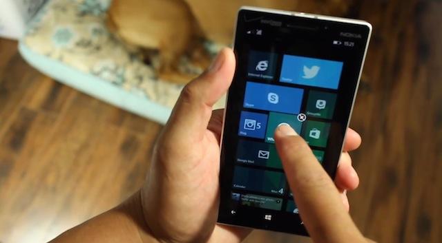 Cách sử dụng Folders trên Windows Phone 8.1