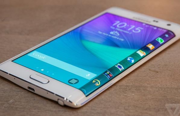 Điều có thể làm với màn hình cong của Galaxy Note Edge