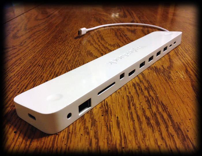 Cách giải quyết sự bất tiện cổng USB type C của MacBook 2015