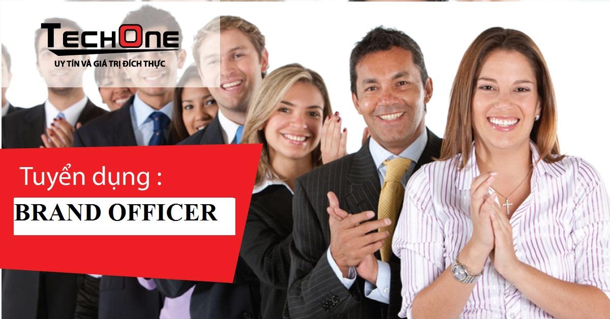 Tuyển Chuyên viên Phụ trách Brand Officer