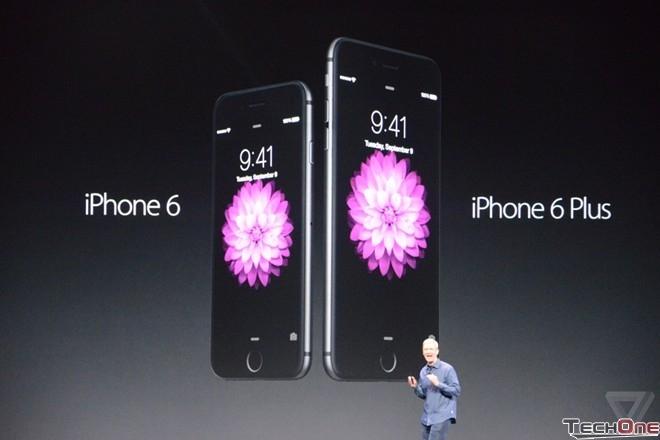 iPhone 6 và 6 Plus chính thức ra mắt với camera thế hệ mới