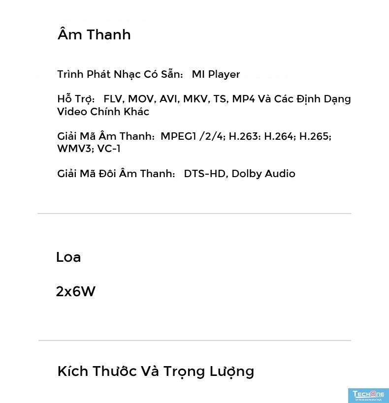 Tivi Xiaomi 4A 49 Inch