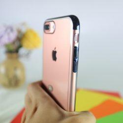 Ốp lưng iPhone 7Plus Silicon viền màu