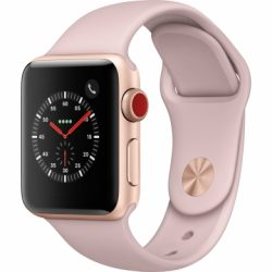 Apple Watch Series 3 GPS + Cellular (Nhôm/38mm) - Hàng Cũ