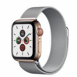 Apple Watch Series 5 - 44mm- Bản Thép - Dây Milanese