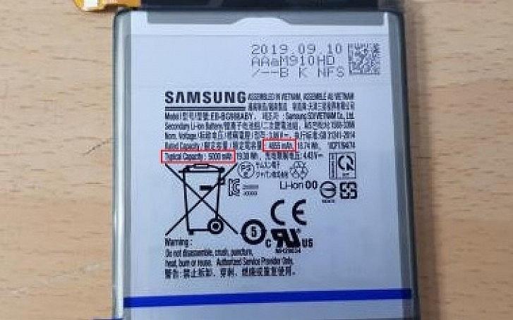 Rò rỉ thông tin Samsung Galaxy S11+ có pin 5.000 mAh