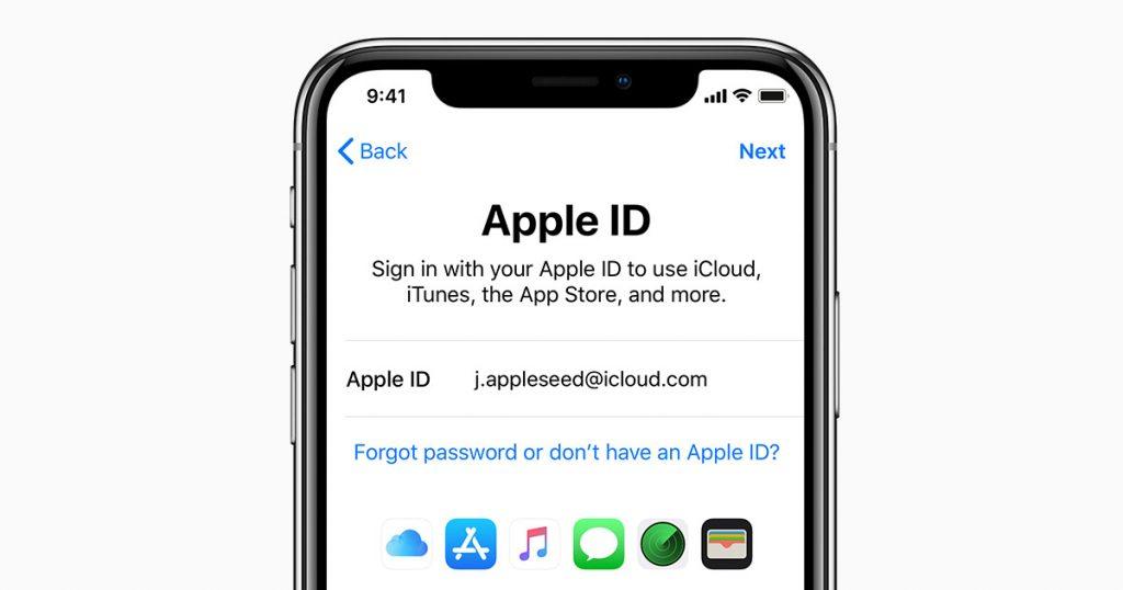 Phân biệt giữa ID Apple và tài khoản iCloud. Những sai lầm thường mắc phải