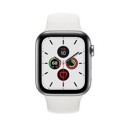 Apple Watch Series 5 - 44mm - Bản Thép - Dây Caosu - (Dùng được Esim)