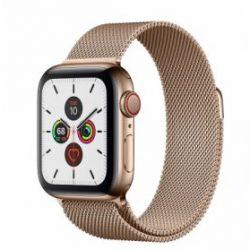 Apple Watch Series 5 - 40mm - Bản Thép - Dây Milanese - (Dùng được Esim)