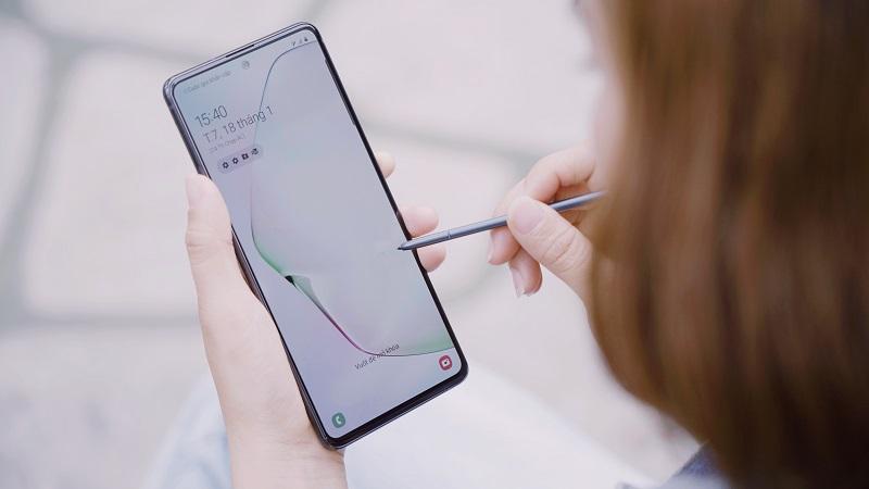 Samsung Galaxy Note 10 Lite nhận bản cập nhật phần mềm mới với nhiều cải tiến quan trọng, anh em vào kiểm tra lên ngay nhé