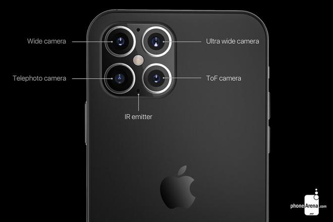 Apple sẽ trang bị công nghệ camera chưa từng có cho iPhone 12 Pro Max?