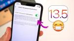Apple phát hành iOS 13.5: Tải về ngay để mở khóa iPhone nhanh hơn khi bạn đang đeo khẩu trang