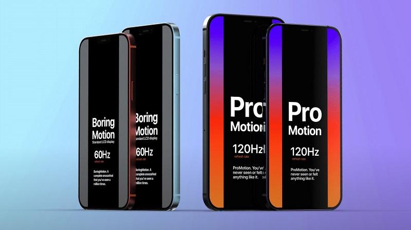 Tin vui cho các iFan, dòng iPhone 12 Pro sẽ có màn hình ProMotion 120Hz cực mượt