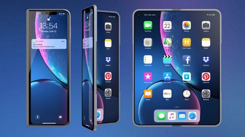 Apple đang phát triển iPhone màn hình gập với 2 màn hình riêng biệt cùng gắn vào một bản lề