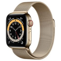 Apple Watch Series 6 Thép- 44mm - Dây Milanese