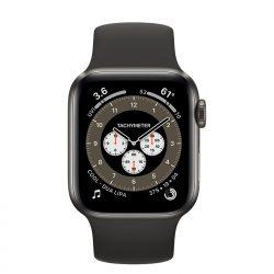 Apple Watch Series 6 Thép - 44mm - Dây Cao Su - Loại dùng được Esim