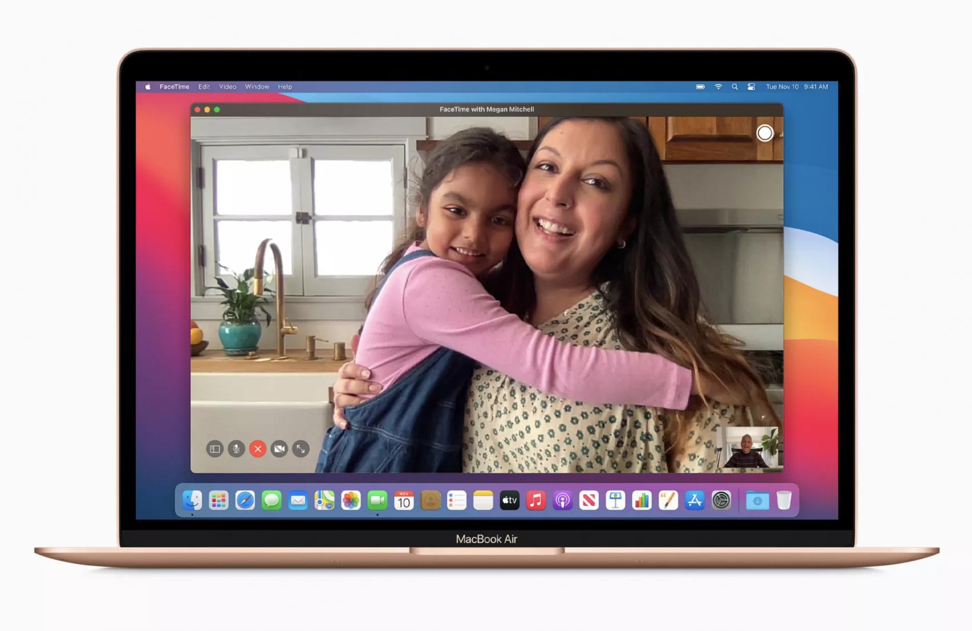 Macbook Air 2020 13 inch Apple M1 - Silver - 8GB RAM 256GB SSD - MGN93