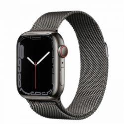 Apple Watch Series 7 Thép - 45mm - Dây Milanese