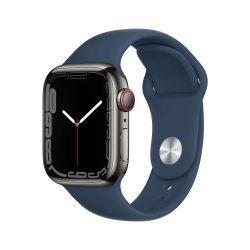 Apple Watch Series 7 Thép - 45mm - Dây Cao Su - Loại dùng được Esim